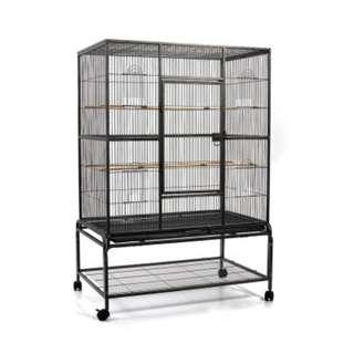 Pet Bird Cage Black Large - 140CM