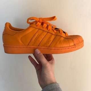 Adidas 亮橘 🍊US6.5