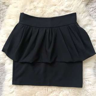 Zara Black Skirt