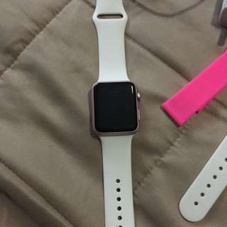 Apple Sports Watch Rose Gold 42mm