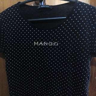 Mango Polka Dots Designed Shirt