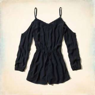 Hollister Cold Shoulder Playsuit