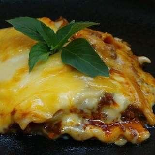 Lasagna Made To Order