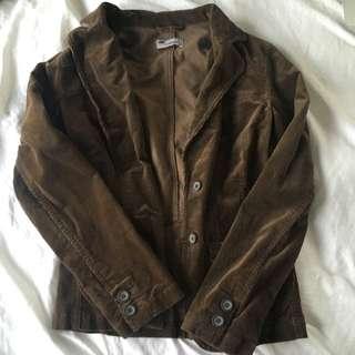 Brown Cord Jacket
