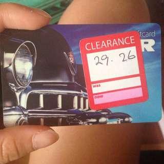 Myer Gift Card $29.26