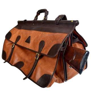 Leather Tactical Duffle Bag