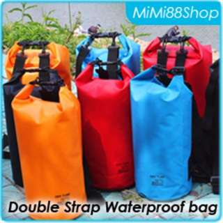 Double Strap Dry Bag - 10L / 20L  - CLEARANCE OFFERS