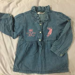 Baby Polo Blouse Authentic