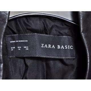 Zara Jacket/ blazer made in Morocco size M with faux leather lining