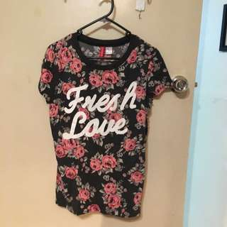 XS Fresh Love Shirt