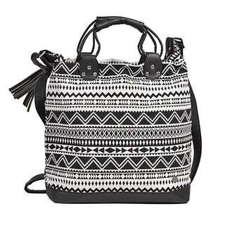 Rip Curl Aztec Black&White Bag