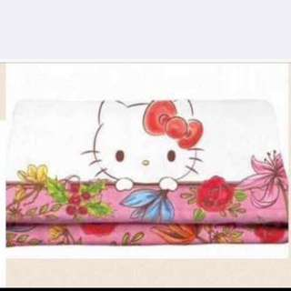 crabtree evelyn hello kitty毛毯