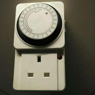 電源開關時間制 Time Socket
