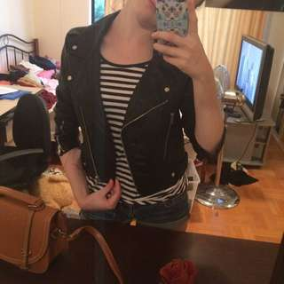 Very Pre-loved leather jacket.