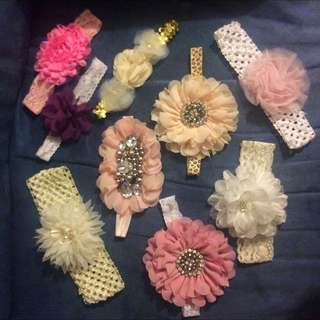Baby Girl Headbands Bundle