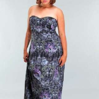 Coogi Plus Size Maxi Dress 1x City Chic