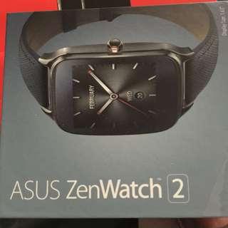 ASUS ZenWatch 2 智慧手錶 伯爵藍 真皮