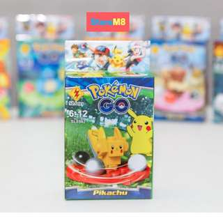 POKEMON GO Figures  ( 8pcs or characters )