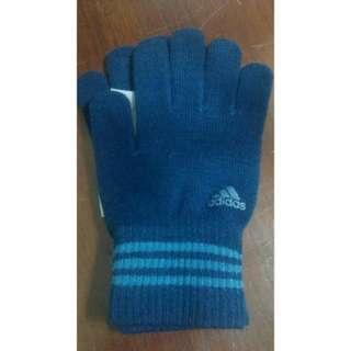 【降降】★Adidas★時尚輕薄手套(兩色)日本製造黑色藍色
