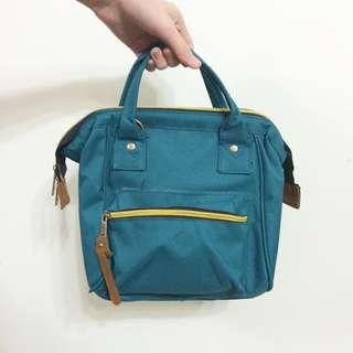 🚚 綠色三用後背包肩背包手提包