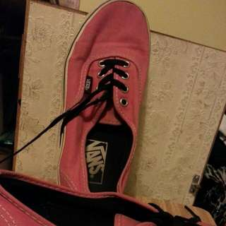 Vans Sneakers In Faded Pink Size Us 7.5 Wmns