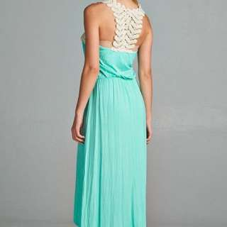 Medium Mint Hi Lo Dress