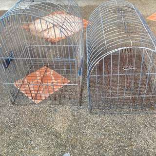Bird Cage And Dog Cage