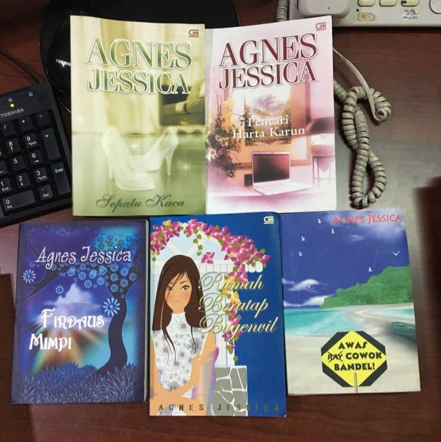 5 Novel Karya AGNES JESSICA