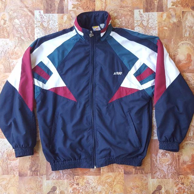 f6bf44c8c 80s Sfida Shell Sports Jacket / Vintage 80s / Colour Color Block ...