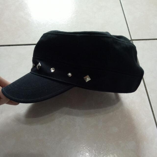 鉚釘軍帽 (8折優惠)