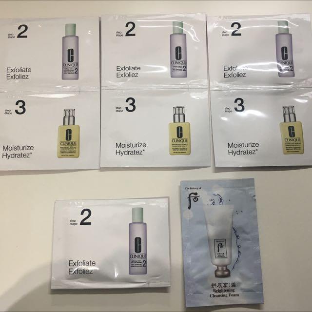 倩碧 三步驟 溫和潔膚水2號 還原潤膚露 送后雪白潔顏乳 旅行 小包 體驗 試用
