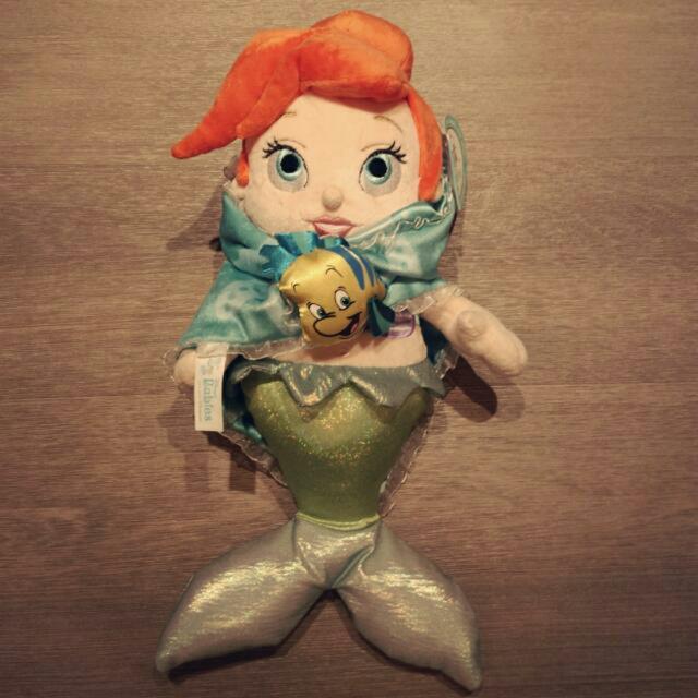 迪士尼帶回 小美人魚 玩偶
