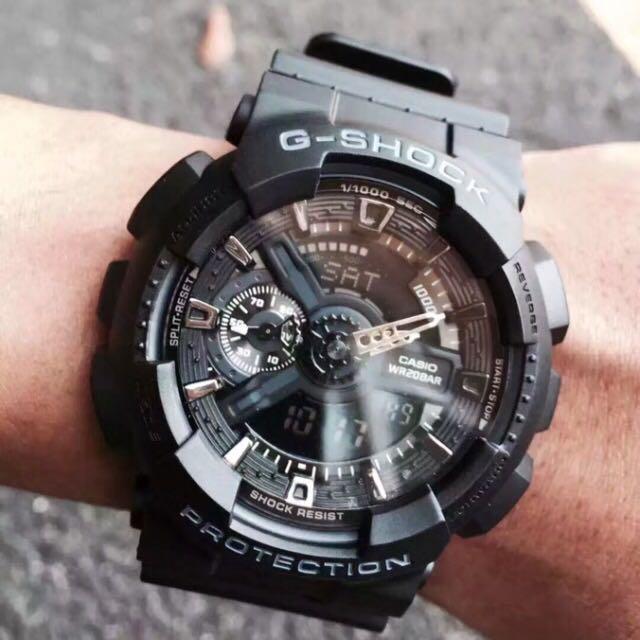 😍全黑 正品 👍🏿👍🏿G-shock Casio Baby-g 卡西歐 手錶