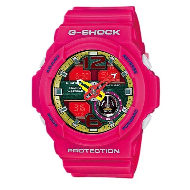 全新 G-shock 女錶 時尚 桃