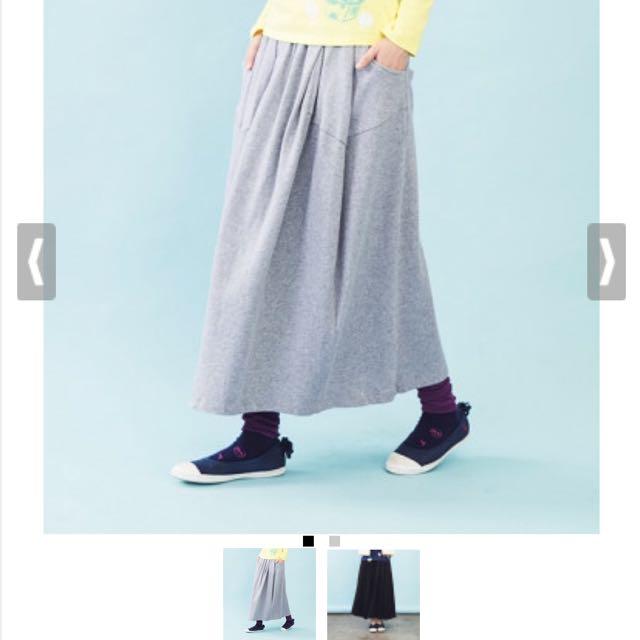 全新!a la sha前造型皺摺裙s
