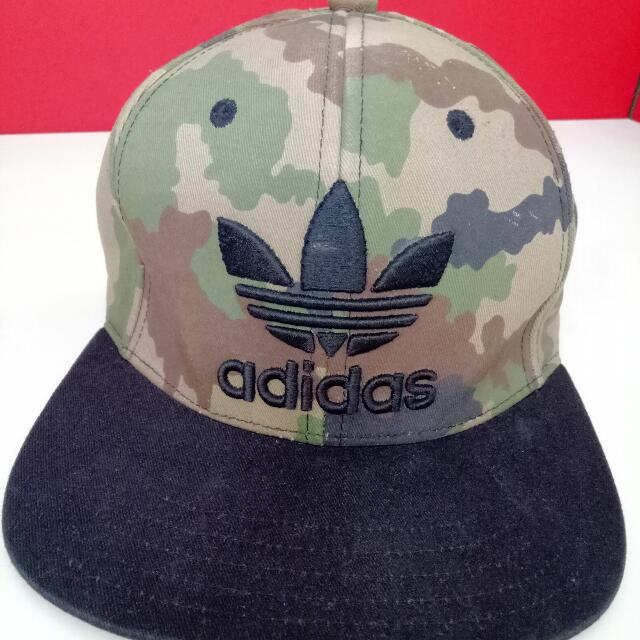 Repriced**   Adidas   Snap Back   Camouflage