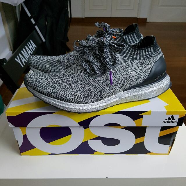acebc7f5dbeeb Adidas Ultra Boost Uncaged Silver Pack US9