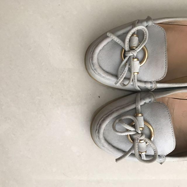 ALDO soft blue shoes