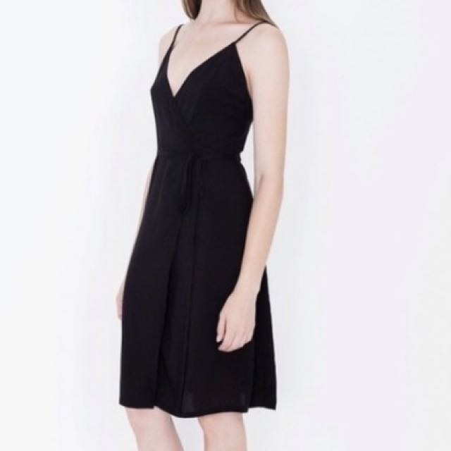AMERICAN APPAREL WRAP DRESS