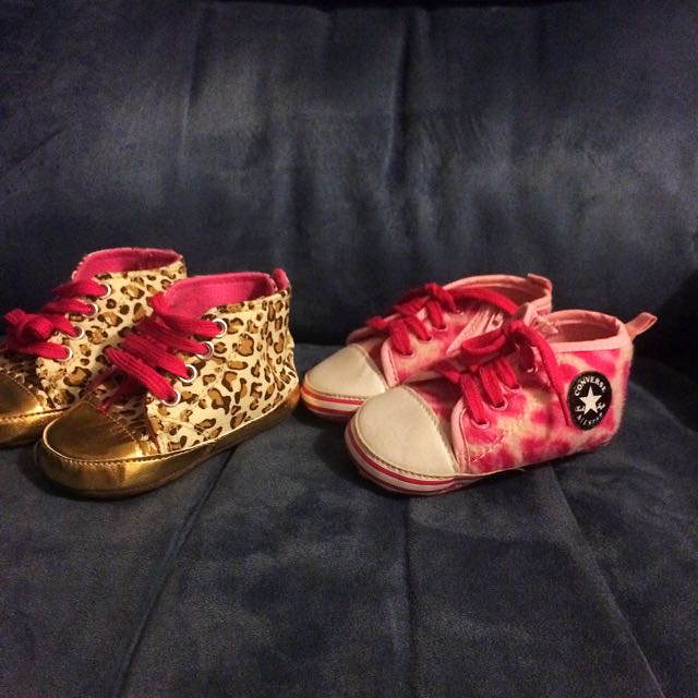 Baby Girl Shoes Converse Leopard