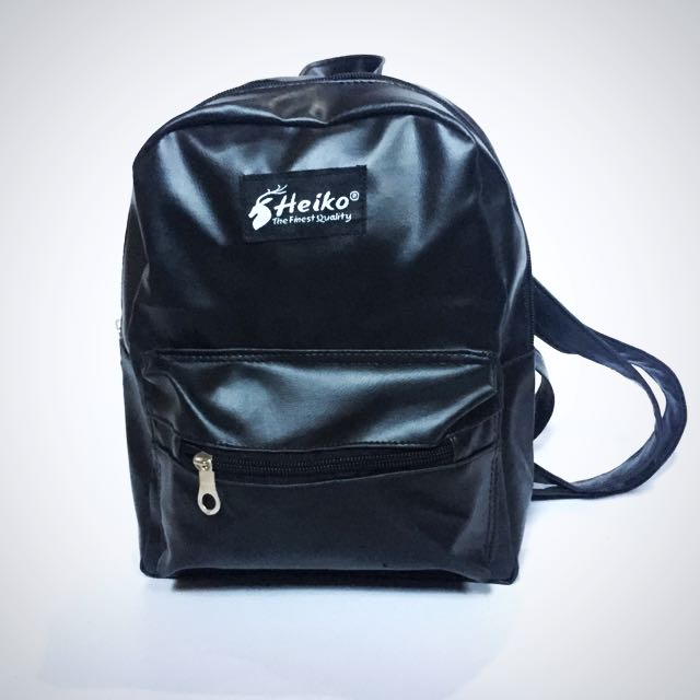 DISKON 50% Backpack Leather Mini