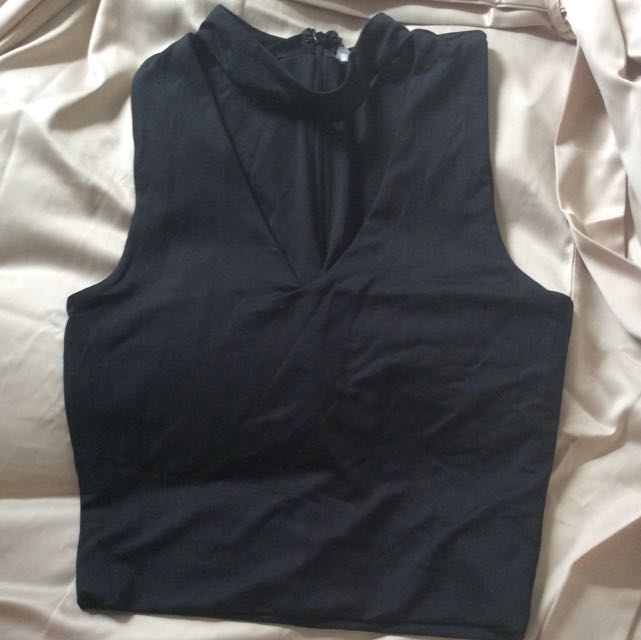 BRAND NEW Cropped Choker Top