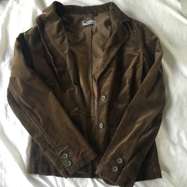 Brown Cord Jacket