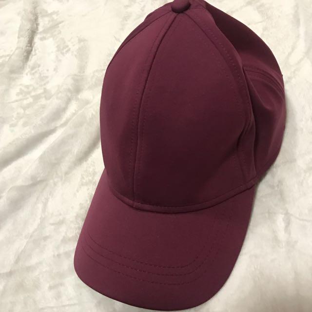 Burgundy Lululemon Hat