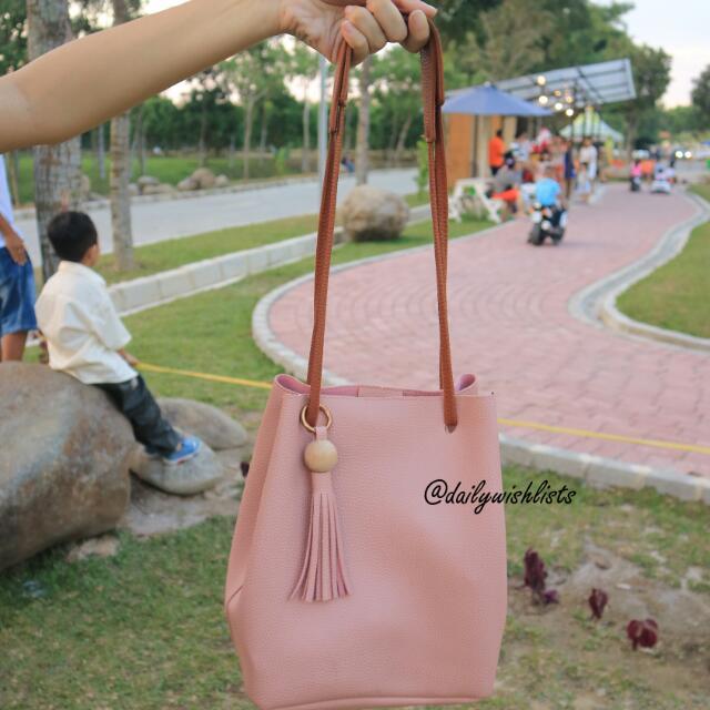 Cassie Bag In Pink