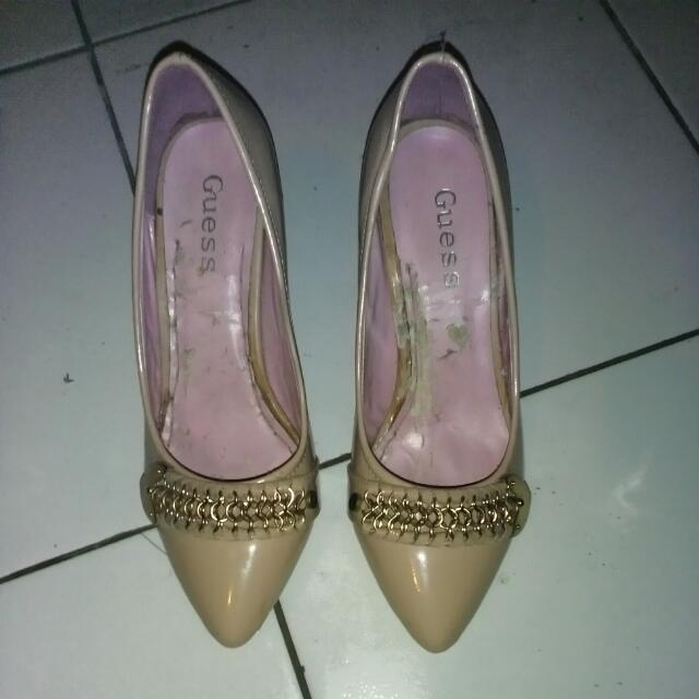 Chains Pink Nude Heels