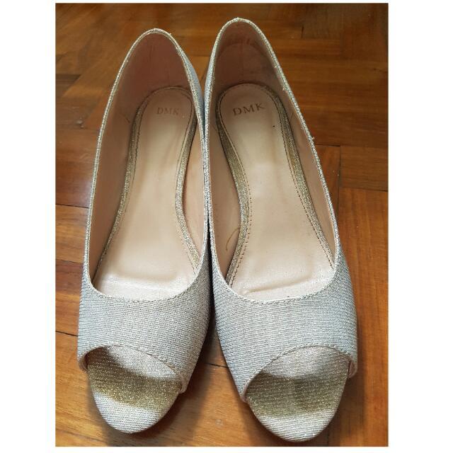 f32ed839d432 Champagne Color Lady Shoes