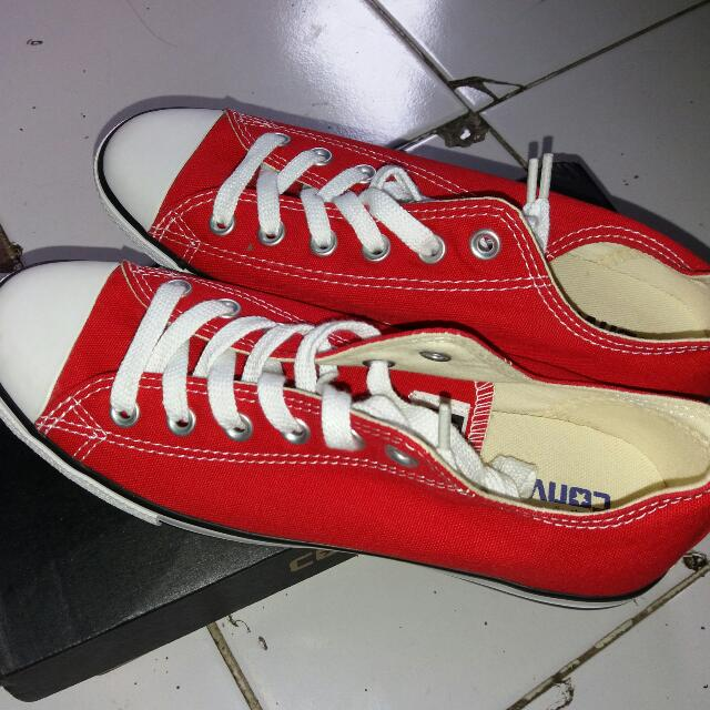 Converse ct lean low red