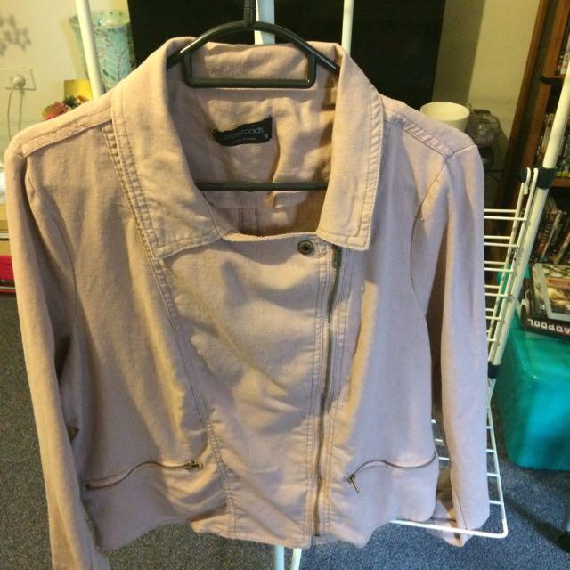 Crossroads Size 16 Pink Cloth Jacket
