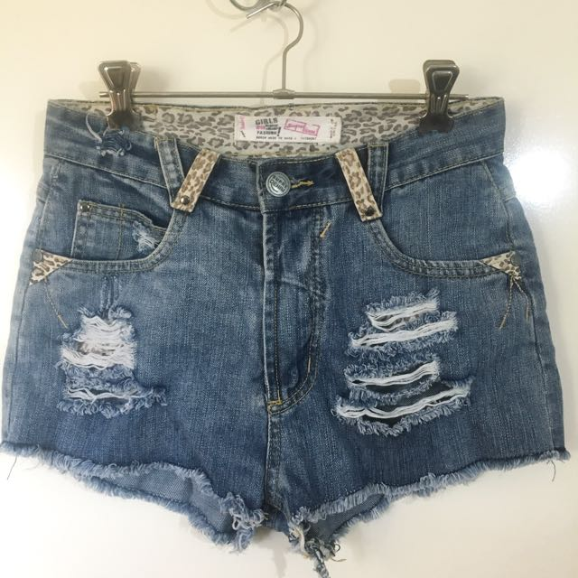 Denim Shorts Size S  High Waist SUPRÉ